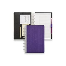 Sanibel Circa® Foldover Notebook - Violet