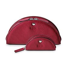 Luna Pouch Set (set of 2) - Berry