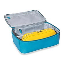 Duo Travel Cases, Brights (set of 2) - Pool/Lemon