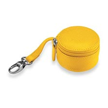 Zip-N-Store Earbud Holder, Brights - Lemon