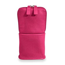 Traveler Convertible Pouch, Brights - Raspberry