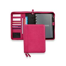 Circa Zip Pro Folio, Brights - Raspberry