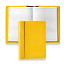 Stanley Leather Journal, Brights - Lemon