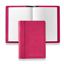Stanley Leather Journal, Brights - Raspberry