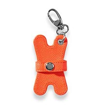Pocquettes™ Earbud Holder, Brights - Tangerine
