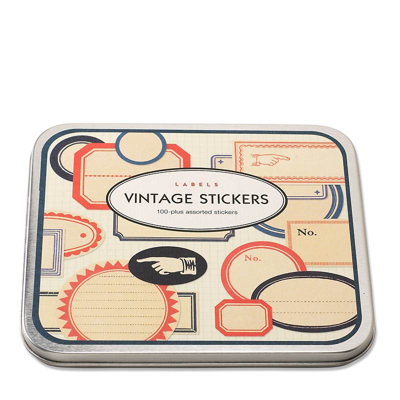 Vintage Label Stickers