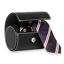 Necktie Roll Case - Black