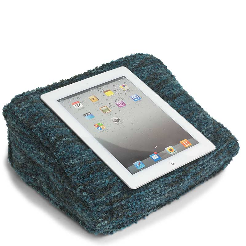Boucle iPad Pillow, Teal