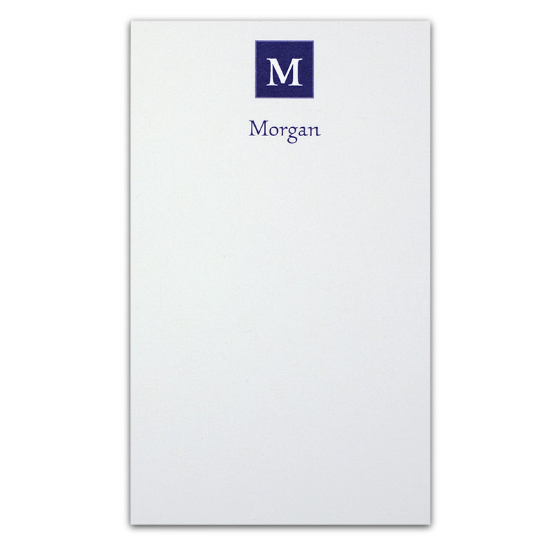 Insignia™ Personalized 3x5 Cards (set of 250), Blue
