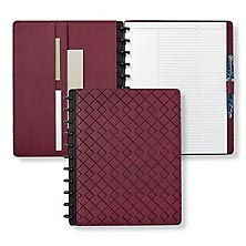 Circa Gemstone LevTex™ Foldover Notebook