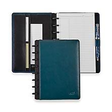 Circa Tourmaline Gemstone Leather Foldover Notebook