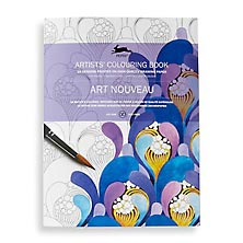 Artists' Colouring Book – Art Nouveau