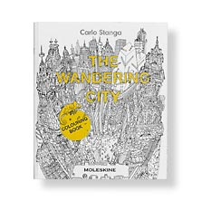 Moleskine Colouring Book—The Wandering City