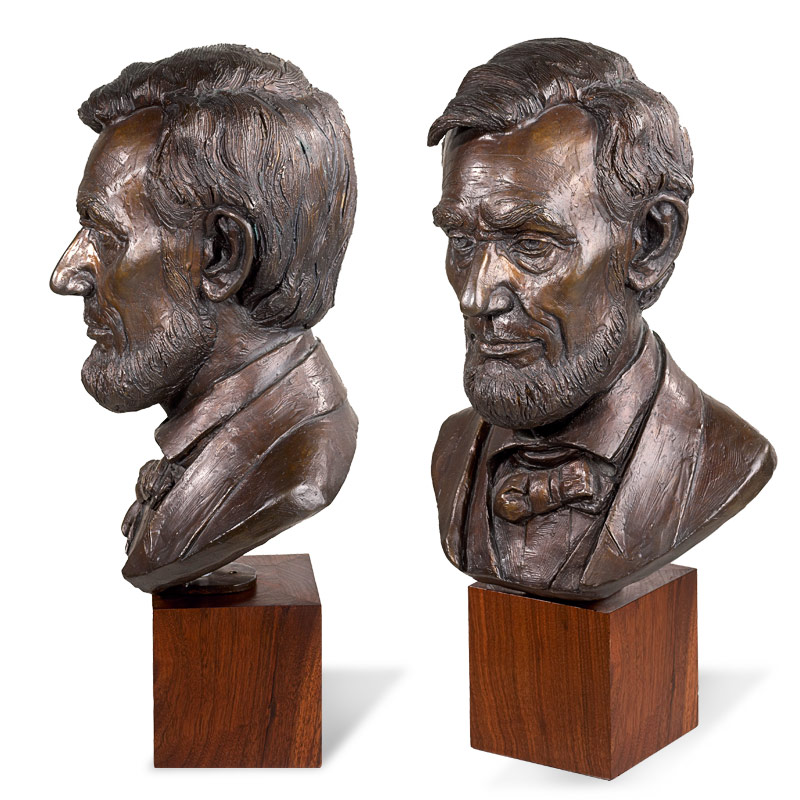 Lincoln Bronze Bust