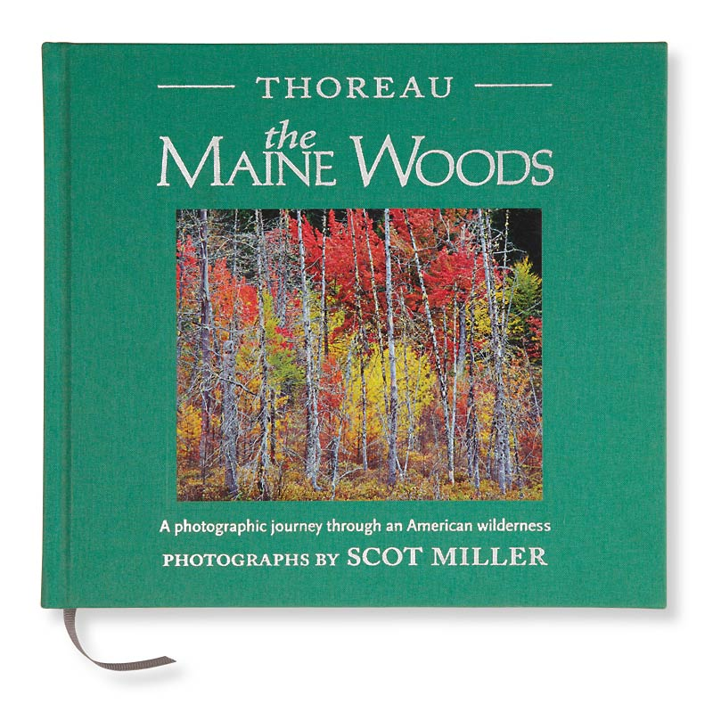 True Writer Foliage Ballpoint and Thoreau's Maine Woods: A Photographic Journey