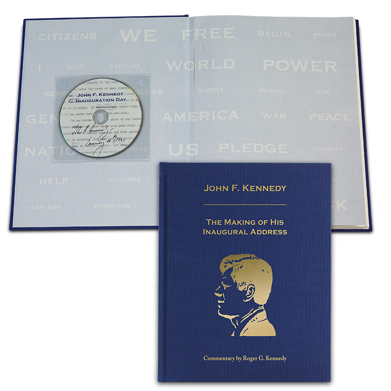 John F. Kennedy: The Making of His Inaugural Address (book and DVD)