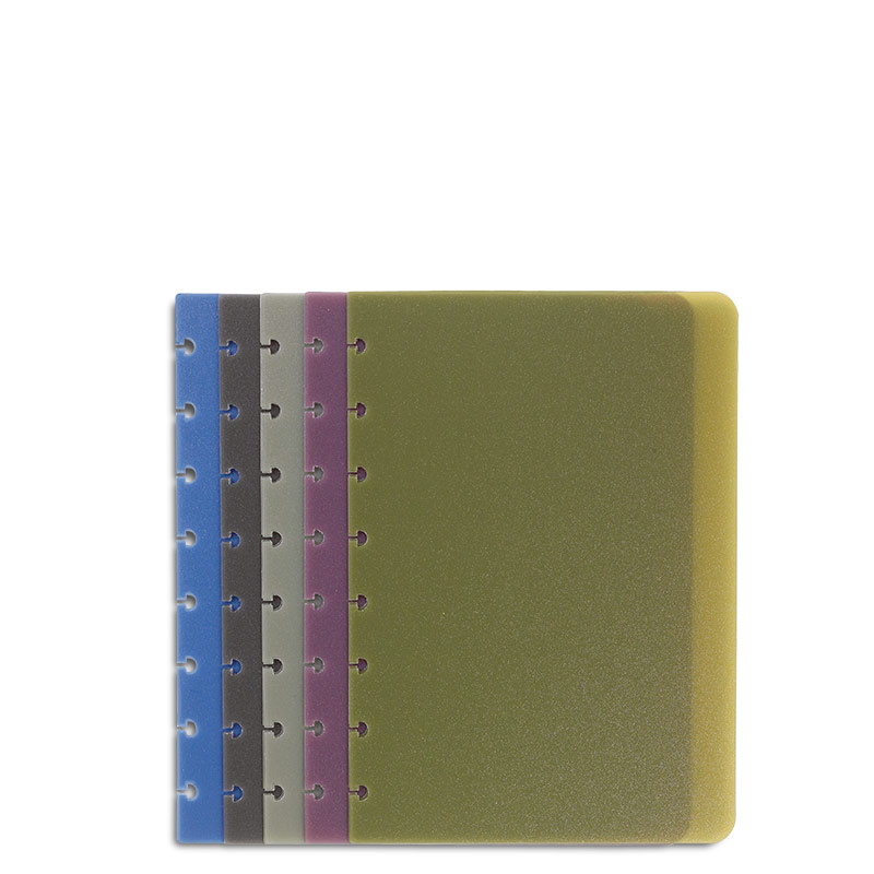 Circa Multicolored Translucent Covers (set of 5), Junior