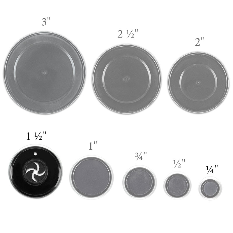 Circa Clincher Discs, 1 1/2 inch (set of 11)