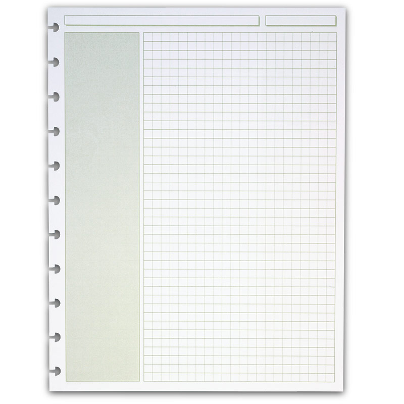 Circa Shaded Annotation Sheets (300 sheets), Grid