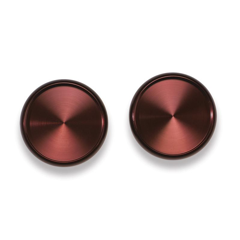 Aluminum Circa Discs, 1 inch (set of 11), Oxblood