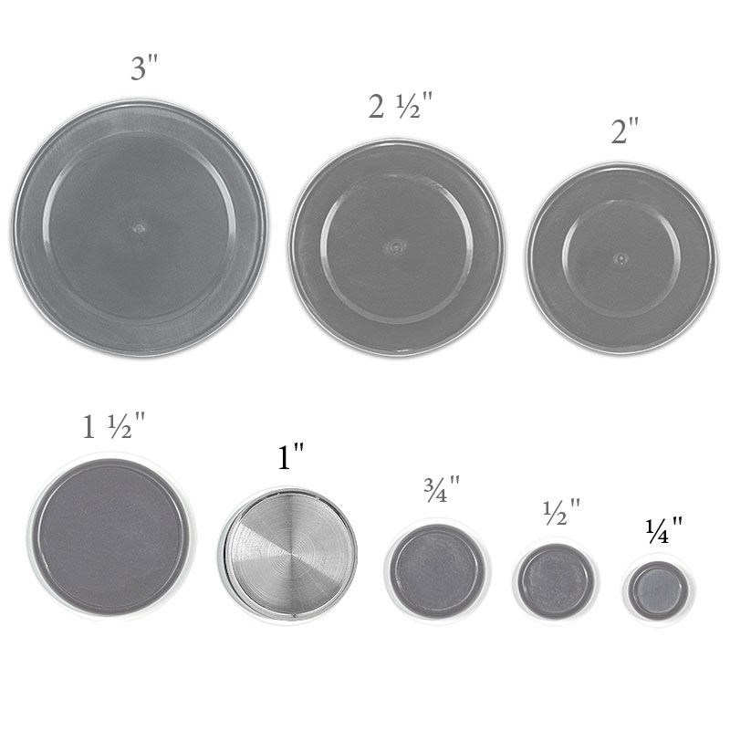 Aluminum Circa Discs 1 inch (set of 11)