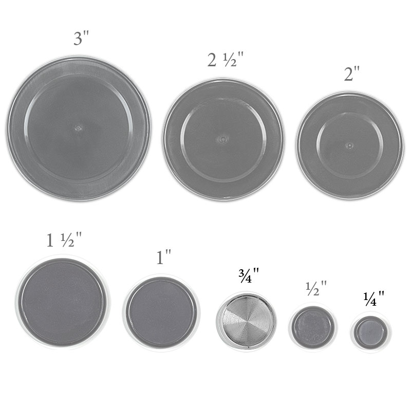 Aluminum Circa Discs, 3/4 inch (Set of 11)