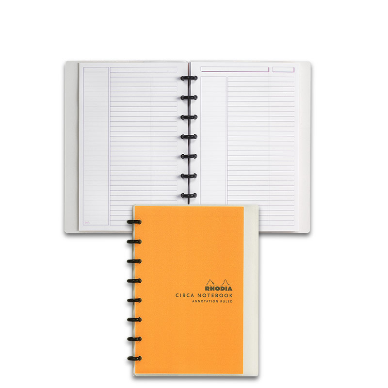 Circa Rhodia Annotation Ruled Notebook, Junior