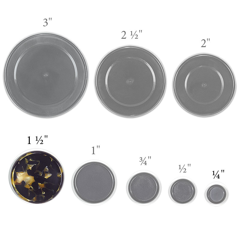 Golden Tortoise Circa Discs, 1 1/2 inch (set of 11)