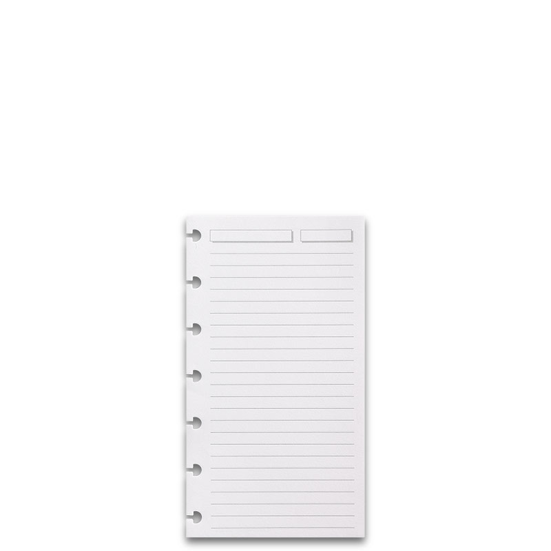 300 Circa Full-Page Ruled Refill Sheets, Compact