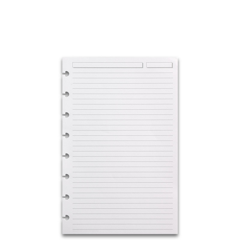 300 Circa Full-Page Ruled Refill Sheets, Junior