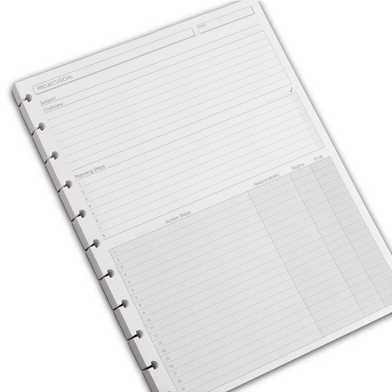 100 Circa Project Planner Refills, Letter