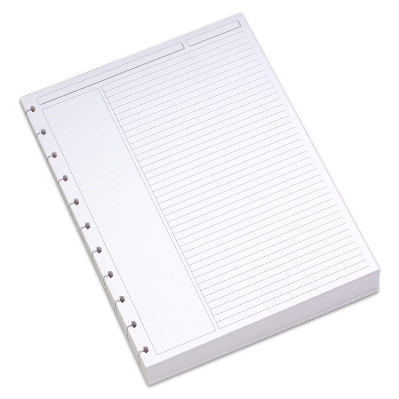 Circa Annotation Ruled Perforated Refill Sheets, Letter
