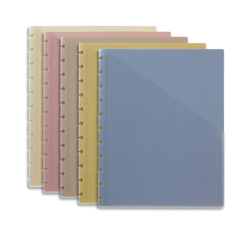 Circa Pocket Dividers, Multicolored (set of 5), Letter