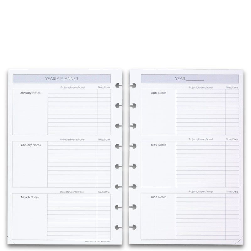 2012 Circa Weekly Agenda Refill, Junior
