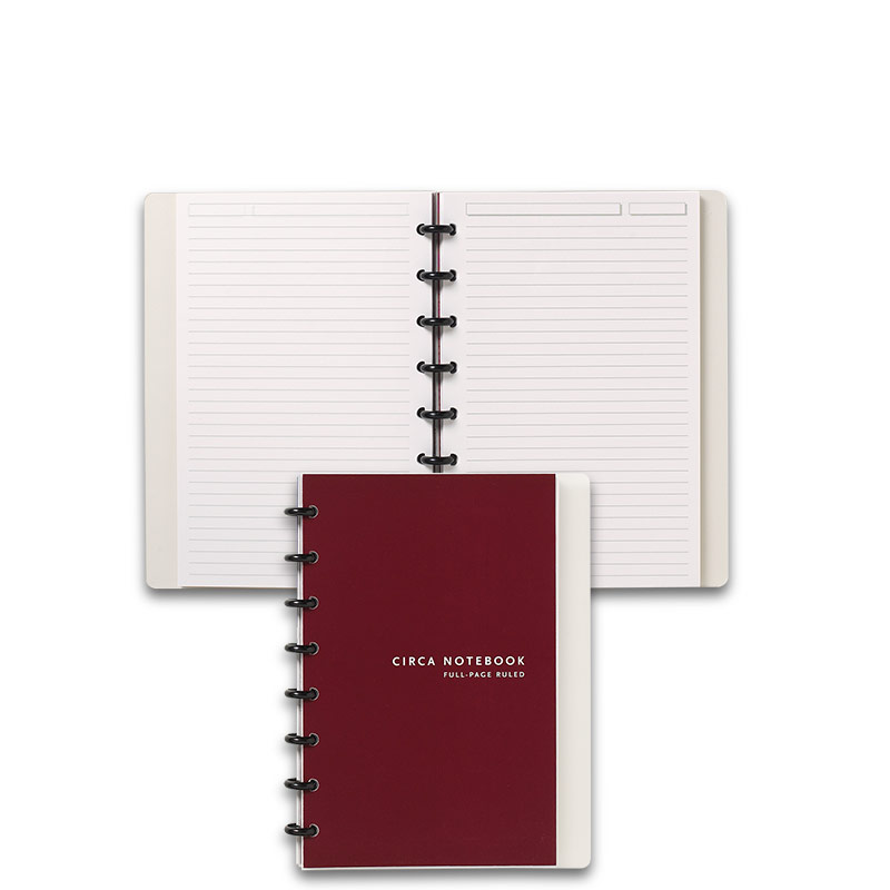 Circa Full Page Ruled Notebook, Junior
