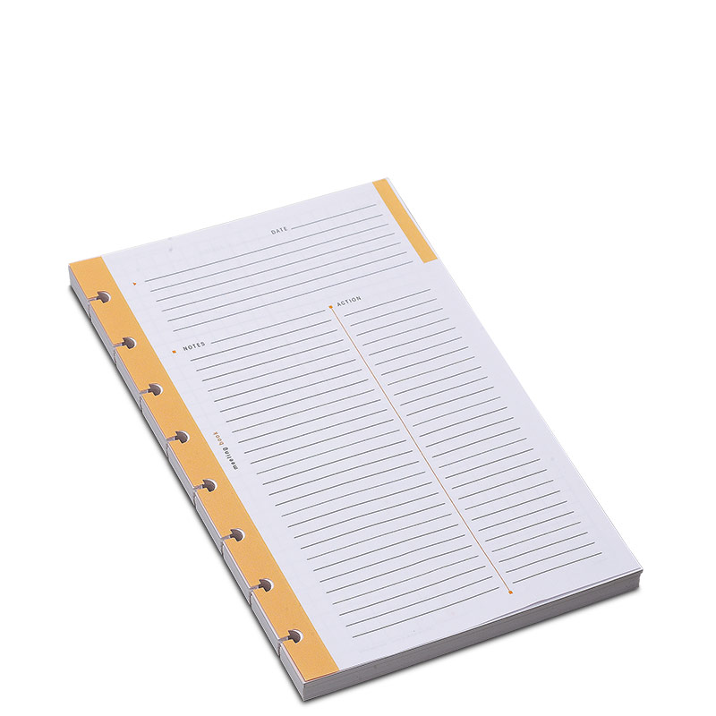 100 Circa Rhodia Meeting Refill Sheets, Junior