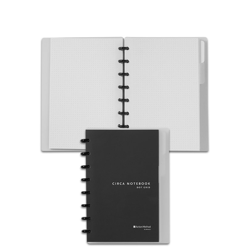 Circa Dot Grid Notebook, Junior