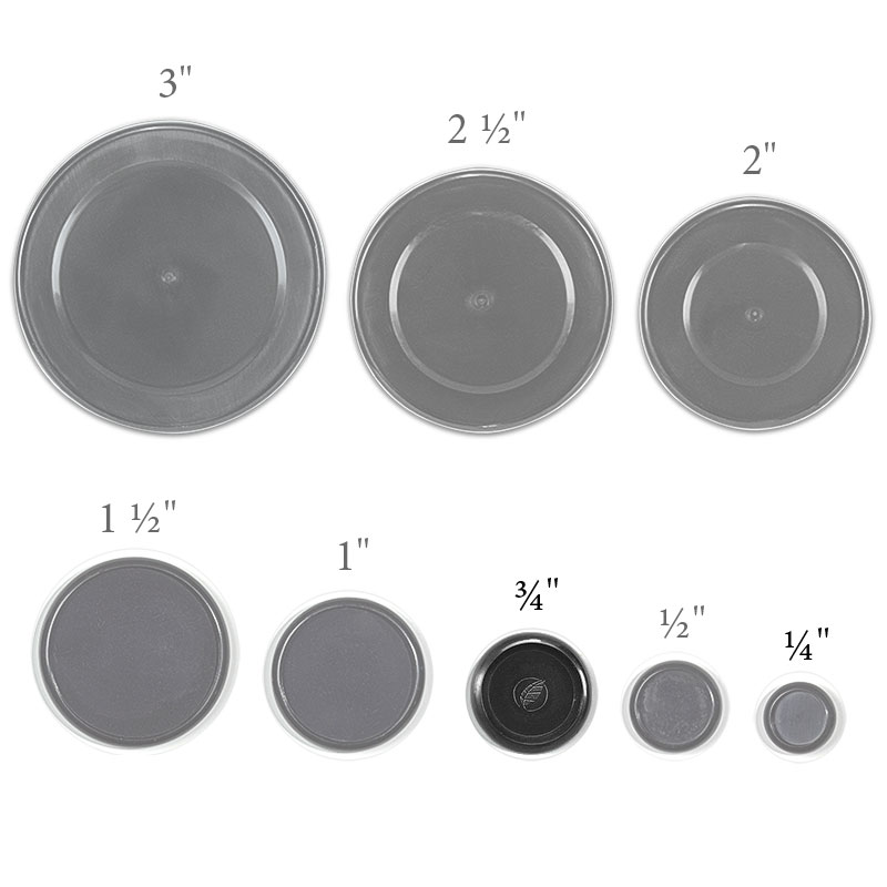 Circa Recycled Discs, 3/4 inch (Set of 22)