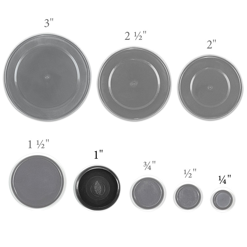 Circa Recycled Discs, 1 inch (Set of 22)