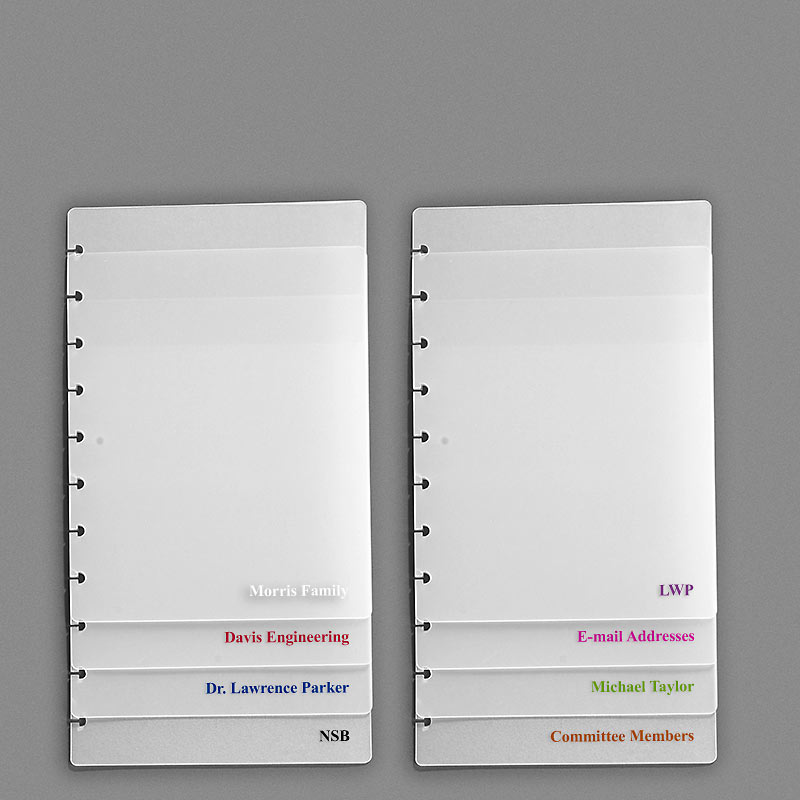 Circa Address Book, Junior, UV Printer Personalization
