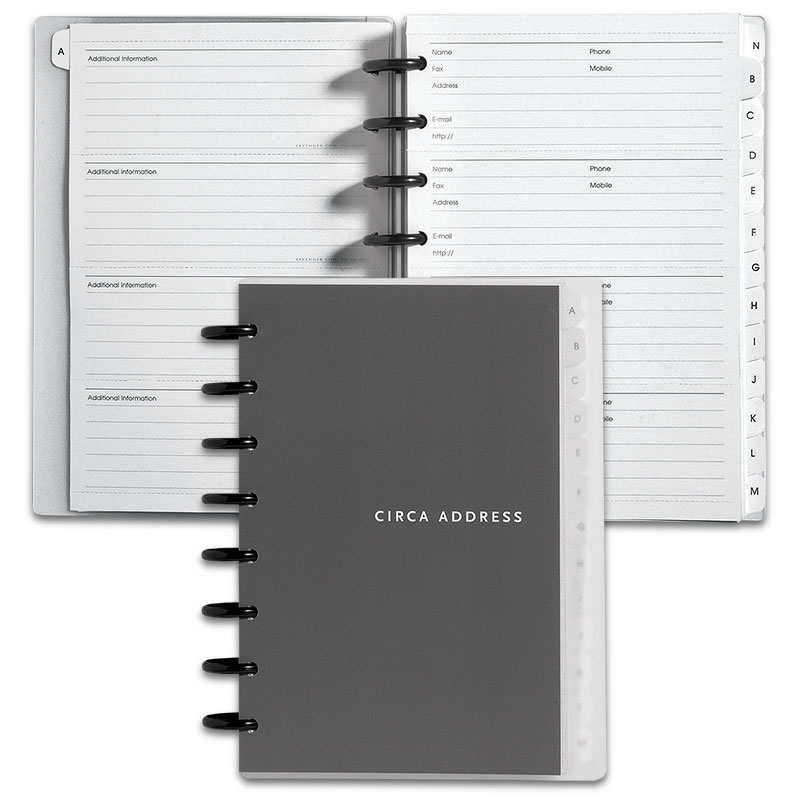 Circa Address Book, Junior