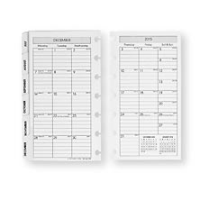 Circa Monthly Tabs & Pullout Calendar, Compact