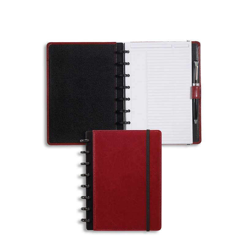 Circa Smooth LevTex Foldover Notebook