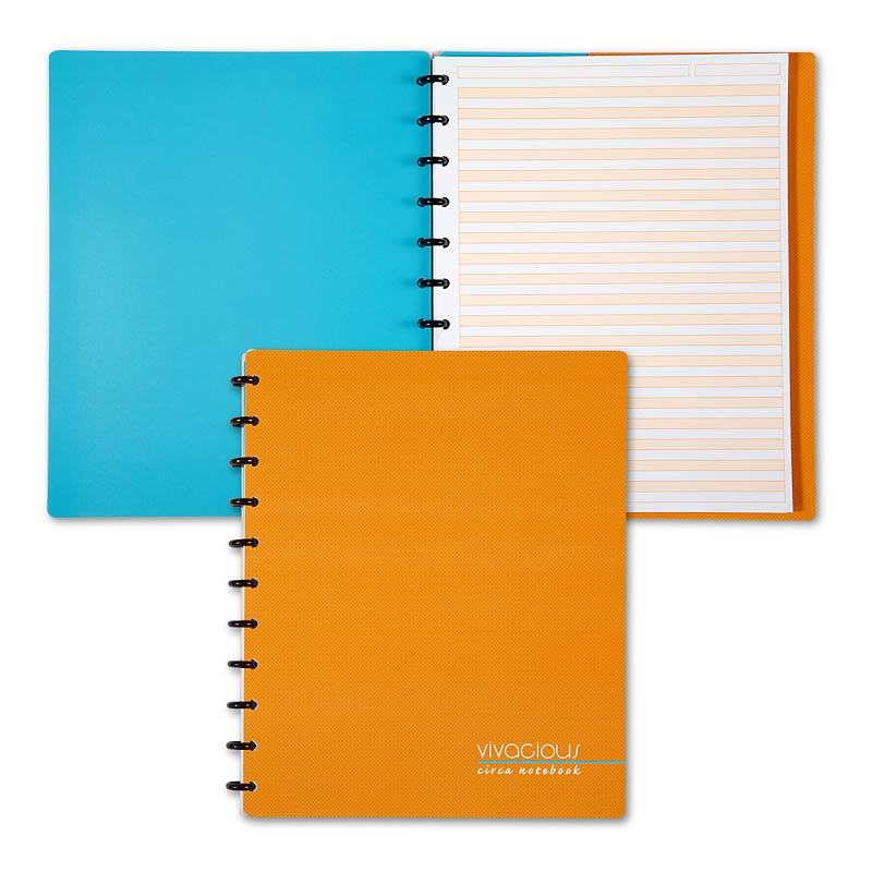 Circa Vivacious Notebook Dual Rule, Letter