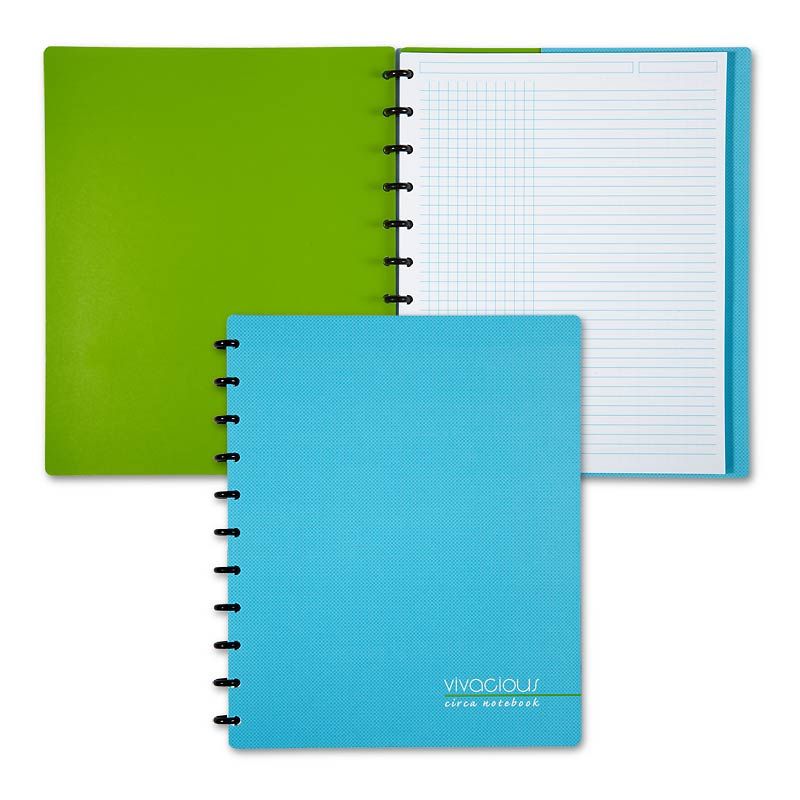 Circa Vivacious Notebook Grid/Ruled, Letter
