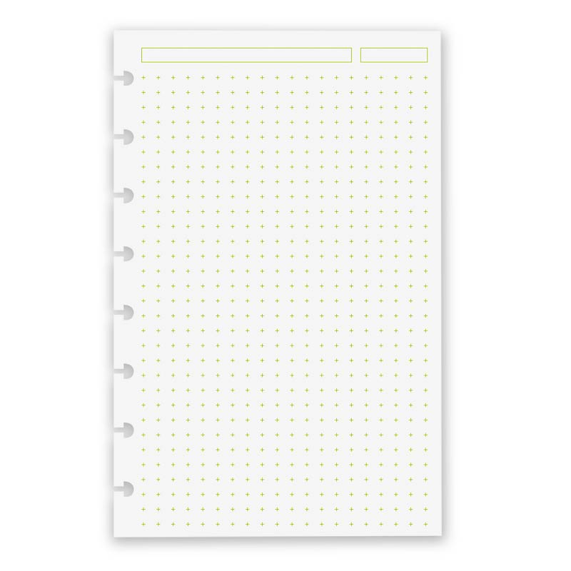 100 Circa Vivacious Refill Cross Dots, Junior