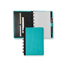 Circa Impressions Foldover Notebook, Aqua, Junior