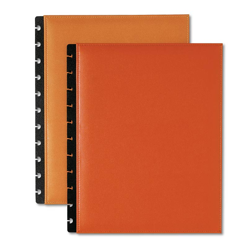 Circa Inside Out Foldover Notebook, Orange, Letter
