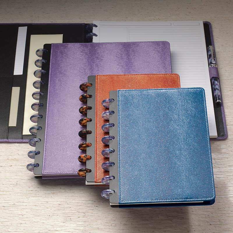 Circa LevTex™ Textured Foldover Notebook,