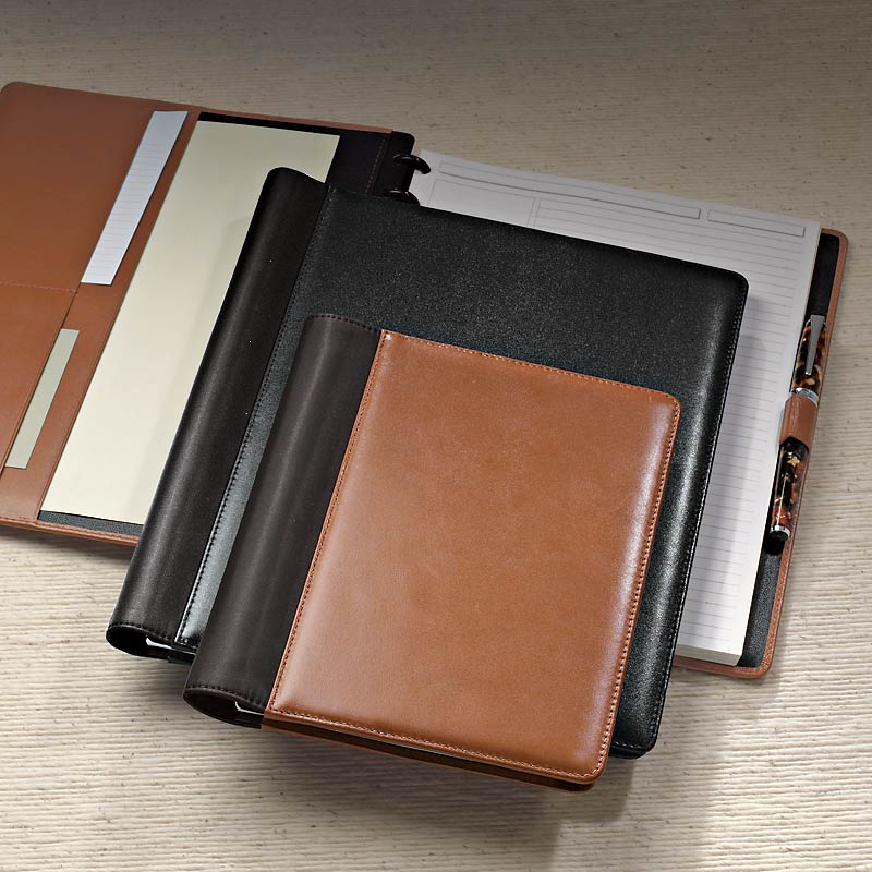Leather Circa Wrap Notebook